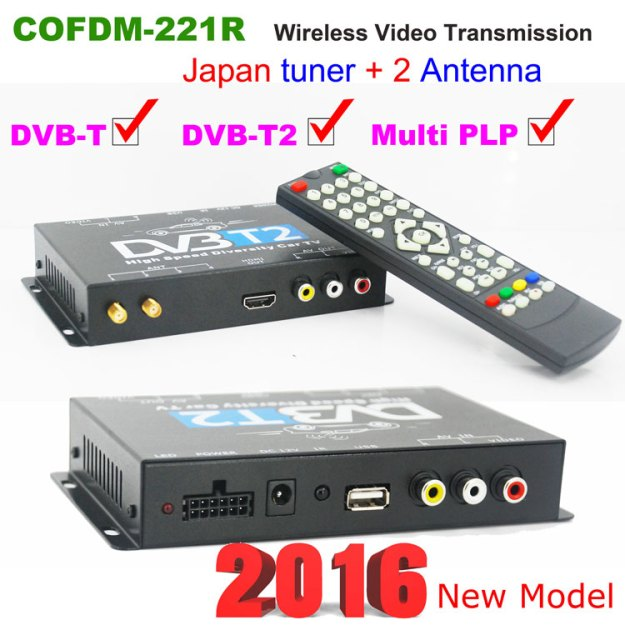 COFDM HD Wireless Video Receiver