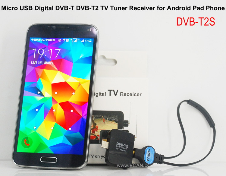 DVB-T2 TV Dongle Android Receiver