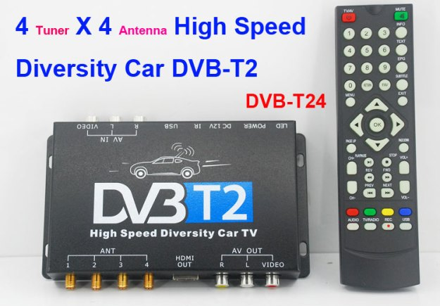 Russia HDMI Car DVB-T2 TV Receiver