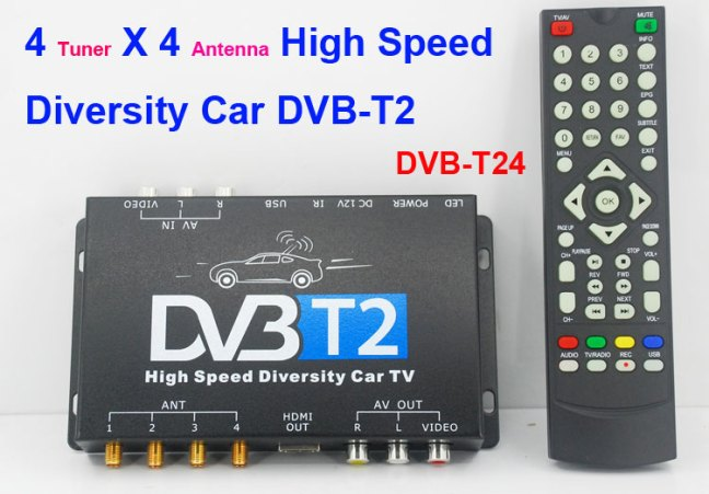 Russia HDMI Car DVB-T2 TV Receiver