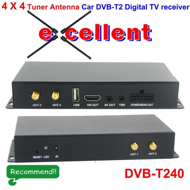 Siano Tuner Car dvb-t2 digital receiver