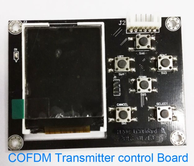 cofdm-903t_cofdm_wireless_video_image_transmission_transmitter_transceiver_control_board